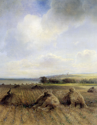 Alexey The Kondratyevich Savrasov. By the end of summer on the Volga