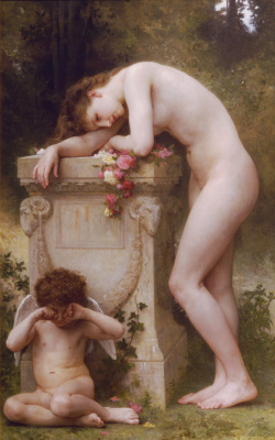 William-Adolphe Bouguereau. Elegy
