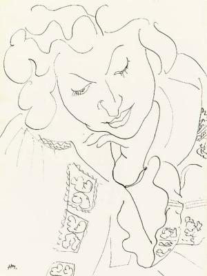 Анри Матисс. Женский портрет в румынской блузе