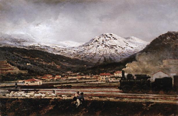 Alexey Petrovich Bogolyubov. Mountain landscape