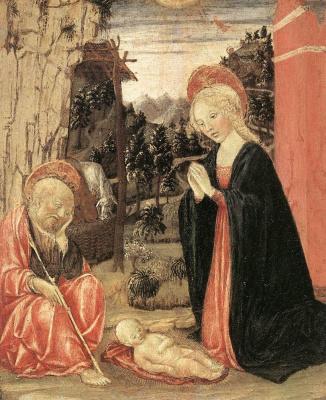 Франческо ди Джорджио Мартини. Рождество