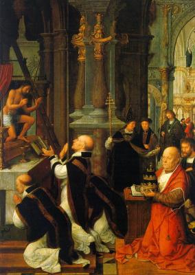 Адриан Изенбрант. Поклонение
