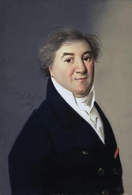 Карл Вильгельм Барду. Портрет мужчины средних лет