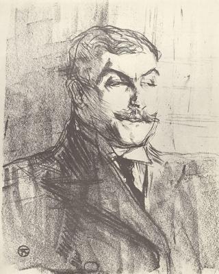 Henri de Toulouse-Lautrec. Lucien Guitry