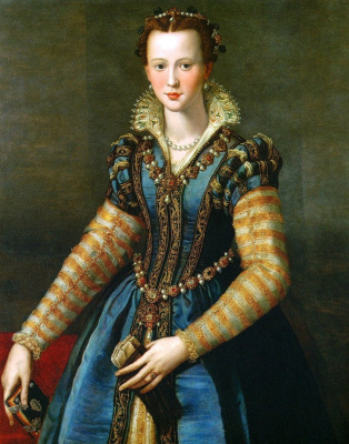 Alessandro Allori. Portrait of a noble lady