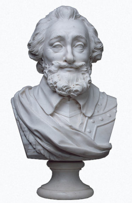 Marie Anne Collot. Bust of Henry IV