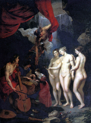 Peter Paul Rubens. The Education Of Marie De Medici