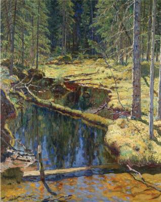 Nikolay Petrovich Bogdanov-Belsky. Forest