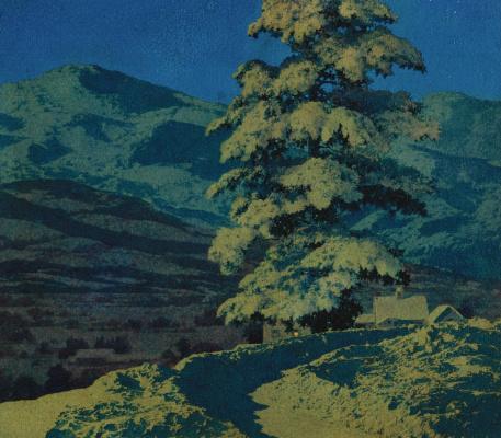 Maxfield Parrish. Moonlight