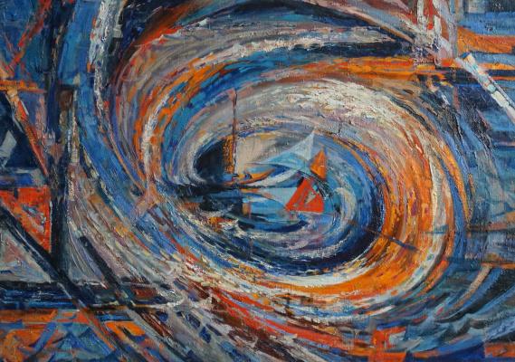 "Oktay Alirzaevich Alirzayev. Cent.chast triptych ""Overcoming"""