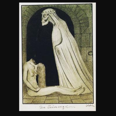Alfred Cubin. Angel of Death