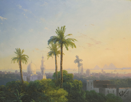 Ivan Aivazovsky. View Of Cairo