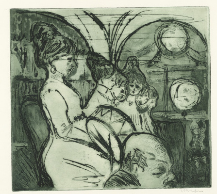 Ernst Ludwig Kirchner. Women