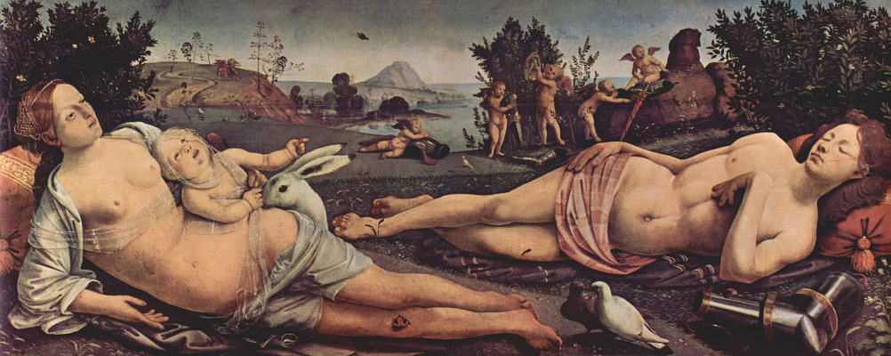 Пьеро ди Козимо. Венера, Марс и Амур