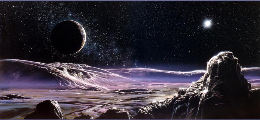 Боб Эгглтон. Плутон и Харон
