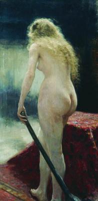 Ilya Efimovich Repin. Model
