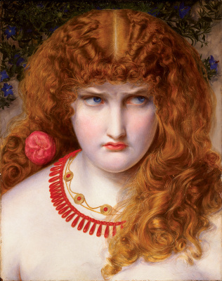 Anthony Frederick Sandys. Helen Of Troy