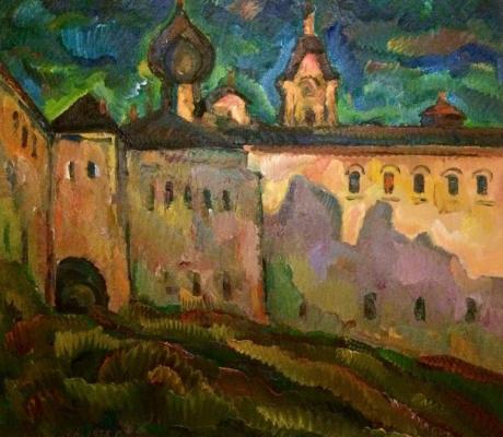 Юрий Павлович Кузнецов. Дворик соловецкого монастыря