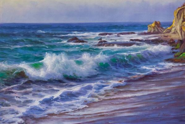 Daria Feliksovna Lagno. Coastal Waves