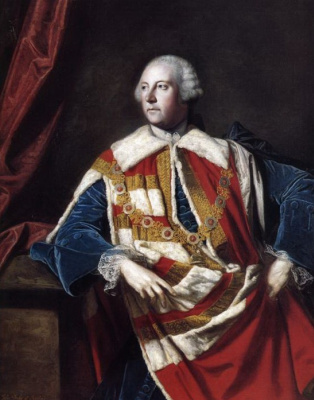 Joshua Reynolds. Portrait of John Russell, 4th Duke of Bedford