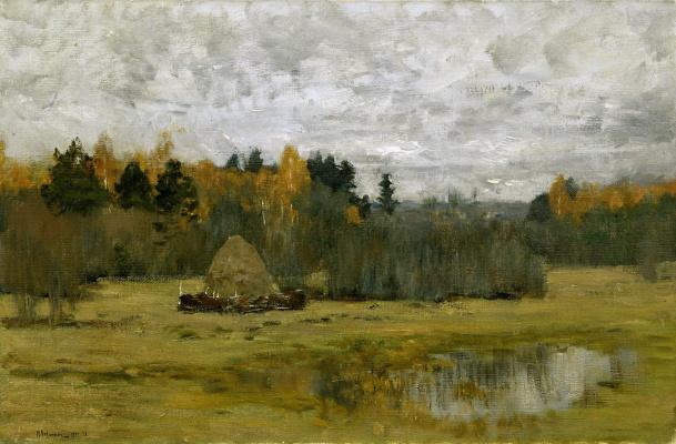 Исаак Ильич Левитан. Поздняя осень
