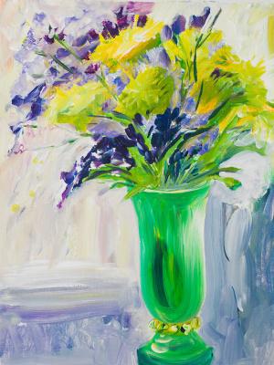 Tatyana Ласовская. Green vase