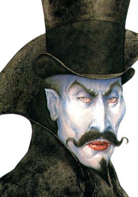 Тудор Хамфрис. Дракула. Официальный портрет