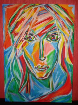 Lyudmila Anatolyevna Afanasyeva. The sun