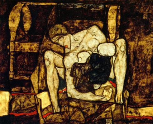 Egon Schiele. Blind mother