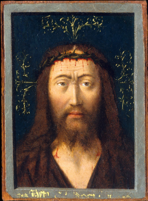 Petrus Christus. Head of Christ