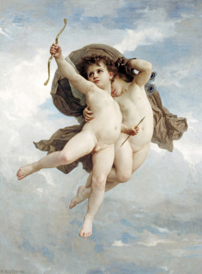 William-Adolphe Bouguereau. Cupid winner