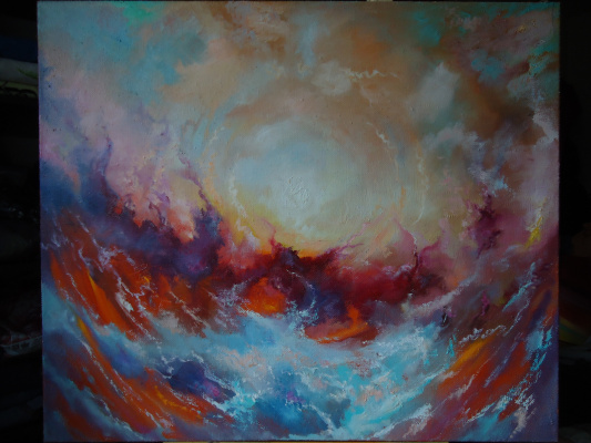 """Sergey Mogilevsky. """"Sky Storm"""""""