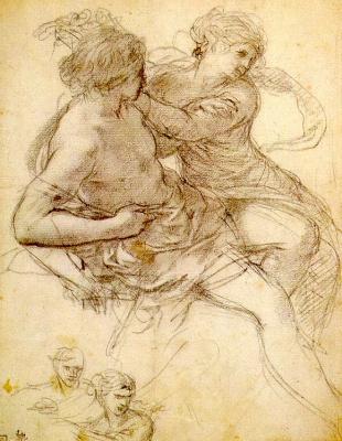 Pietro Da Cortona. Figure