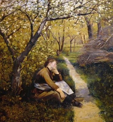 Мария Константиновна Башкирцева. Весна, апрель