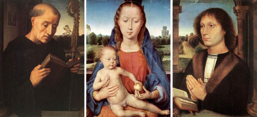 Hans Memling. Triptych Benedetto Portinari