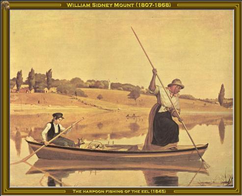 Уильям Сидни Маунт. Рыбалка