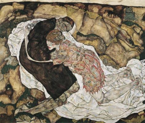 Эгон Шиле. Смерть и Женщина