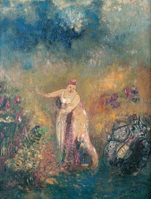 Odilon Redon. Bathing Venus