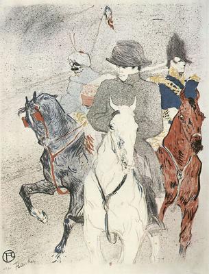 Henri de Toulouse-Lautrec. Napoleon