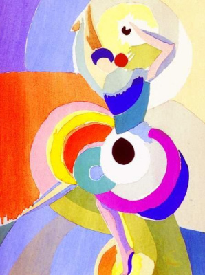 Sonia Delaunay. Flamenco dancer