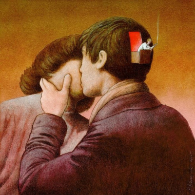Pavel Kuchinski. Love is when the brain takes a time-out