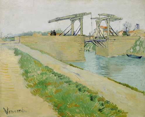 Vincent van Gogh. The Langlois Bridge