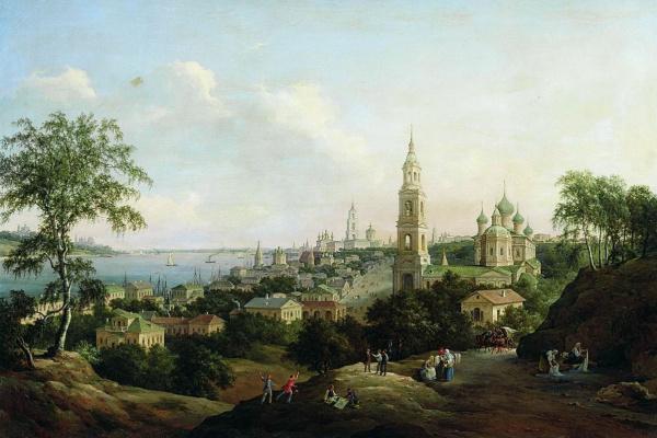 Nikanor Grigorievich Chernetsov. Kostroma. 1862