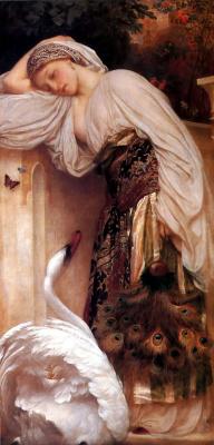 Frederic Leighton. Odalisque