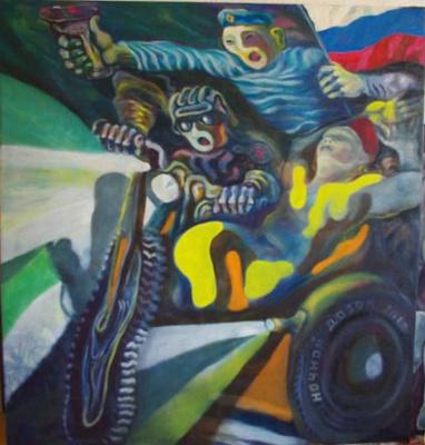 Сергей викторович чезганов. The night Watch