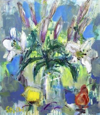 Ilya Pavlovich Spichenkov. Lilies