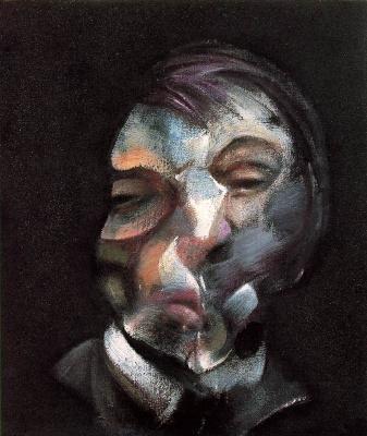 Francis Bacon. The man's face