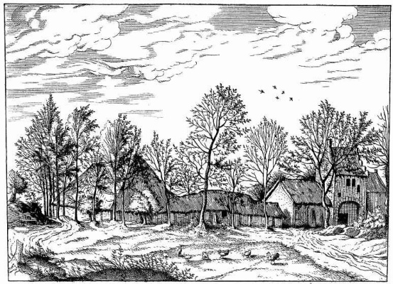 "Pieter Bruegel The Elder. The series ""Small landscapes"". Landscape No. 1"