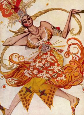 "Танцовщица из балета ""Жар-птица"""