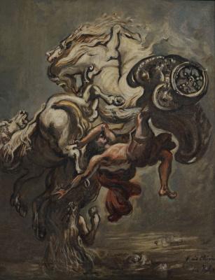 Giorgio de Chirico. Phaethon Fall